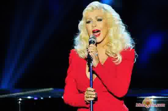 Poster of Christina Aguilera - (English)