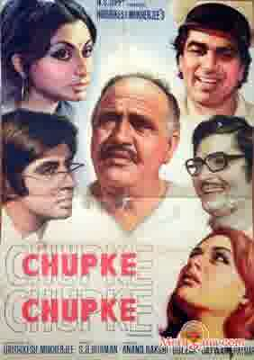 Poster of Chupke Chupke (1975) - (Hindi Film)
