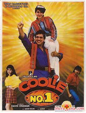 Poster of Coolie No 1 (1995) - (Hindi Film)