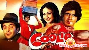 Poster of Coolie+(1983)+-+(Hindi+Film)
