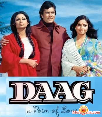 Poster of Daag (1973)