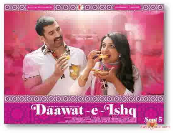 Poster of Daawat-E-Ishq (2014) - (Hindi Film)