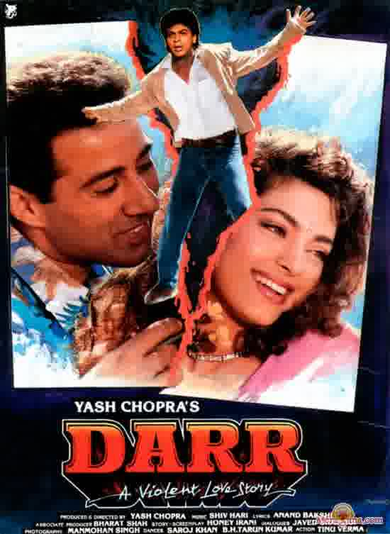 Poster of Darr (1993) - (Hindi Film)