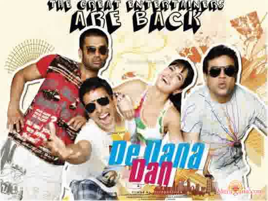 Poster of De Dana Dan (2009) - (Hindi Film)