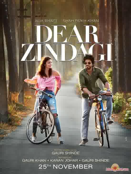Poster of Dear Zindagi (2016) - (Hindi Film)