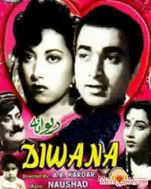 Poster of Deewana (1952) - (Hindi Film)