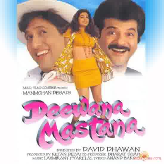 Poster of Deewana Mastana (1997) - (Hindi Film)