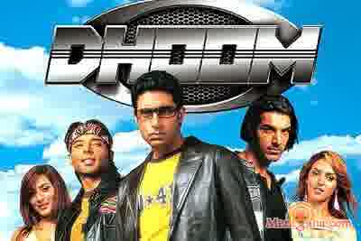 Poster of Dhoom (2004) - (Hindi Film)