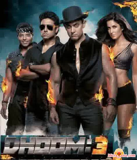 Poster of Dhoom 3 (2013) - (Hindi Film)