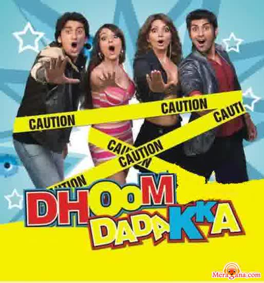 Poster of Dhoom Dadakka (2008) - (Hindi Film)