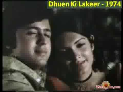 Poster of Dhuen Ki Lakeer (1974)