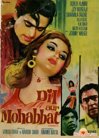 Poster of Dil Aur Mohabbat (1968) - (Hindi Film)