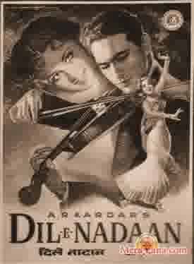 Poster of Dil E Nadaan (1953) - (Hindi Film)