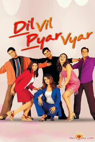 Poster of Dil Vil Pyar Vyar (2002) - (Hindi Film)