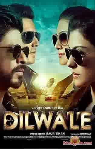 Poster of Dilwale (2015) - (Hindi Film)