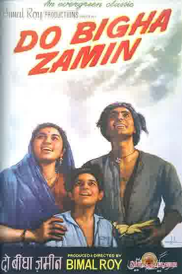 Poster of Do Bigha Zamin (1953) - (Hindi Film)