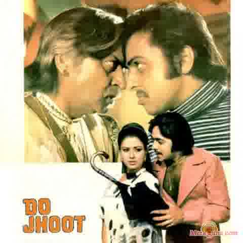Poster of Do Jhoot (1975) - (Hindi Film)
