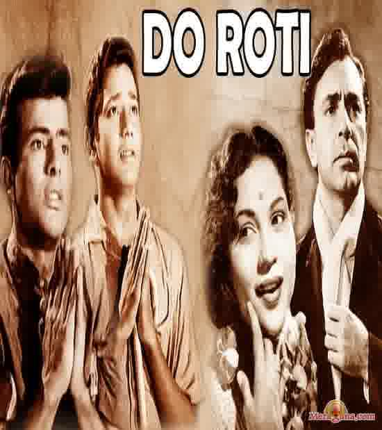 Poster of Do Roti (1957)