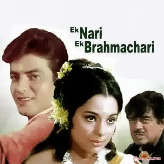 Poster of Ek Nari Ek Brahmachari (1971) - (Hindi Film)