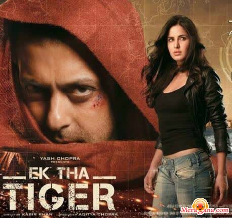 Poster of Ek Tha Tiger (2012) - (Hindi Film)