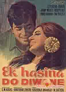 Poster of Ek Hasina Do Diwane (1972)