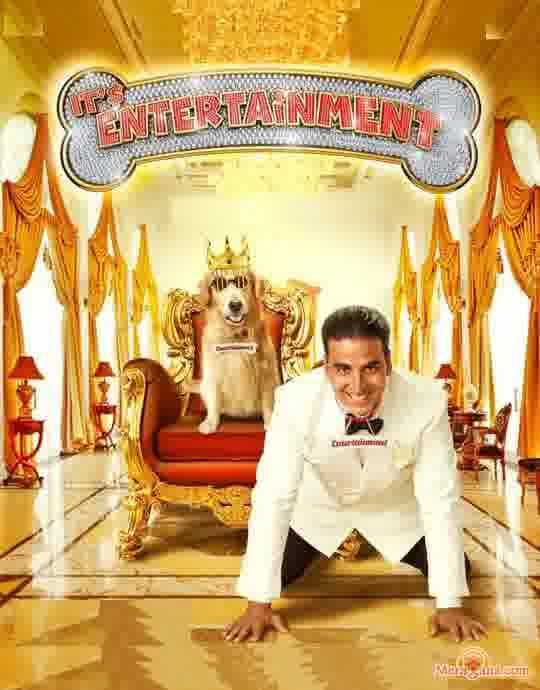 Poster of Entertainment (2014) - (Hindi Film)
