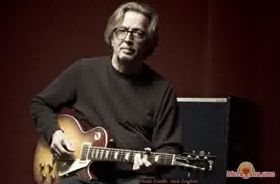 Poster of Eric Clapton - (English)