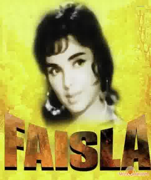Poster of Faisla (1965) - (Hindi Film)