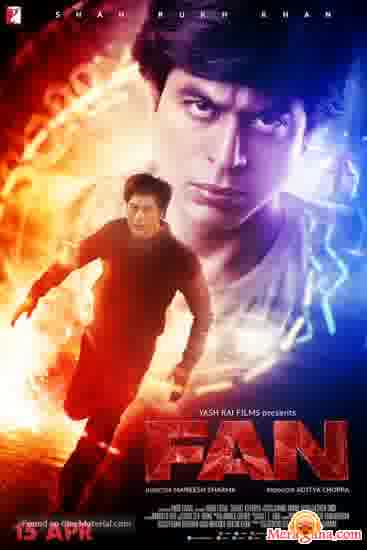 Poster of Fan (2016) - (Hindi Film)