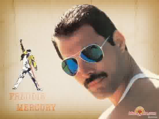 Poster of Freddie Mercury (Queen) - (English)