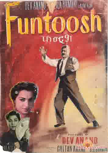 Poster of Funtoosh (1956) - (Hindi Film)