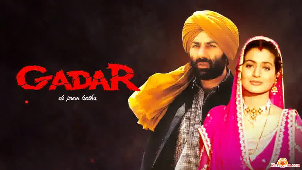 Poster of Gadar (Ek Prem Katha) (2001) - (Hindi Film)