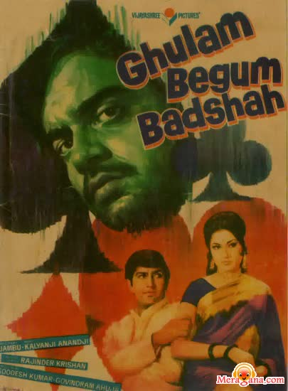 Poster of Ghulam Begum Badshah (1973) - (Hindi Film)