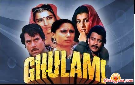 Poster of Ghulami (1985)