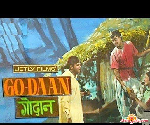 Poster of Godaan (1963) - (Hindi Film)