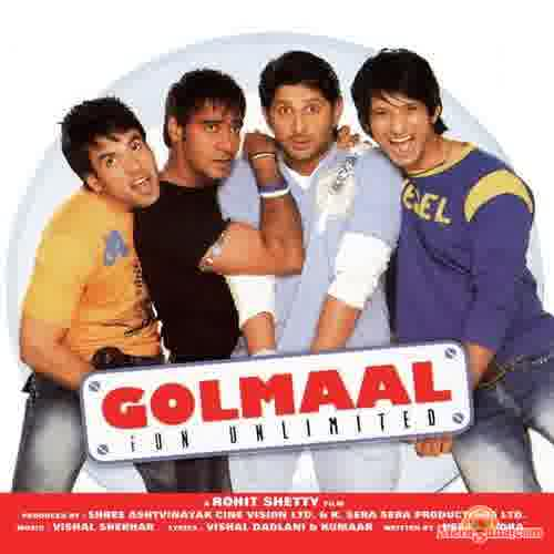 Poster of Golmaal (Fun Unlimited) (2006) - (Hindi Film)