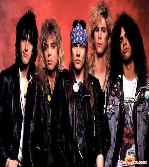 Poster of Guns N Roses - (English)