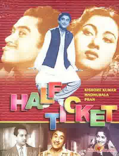 Poster of Half Ticket (1962) - (Hindi Film)