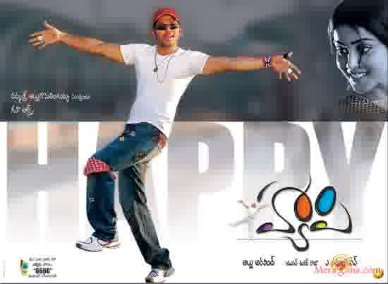Poster of Happy (2006) - (Telugu)