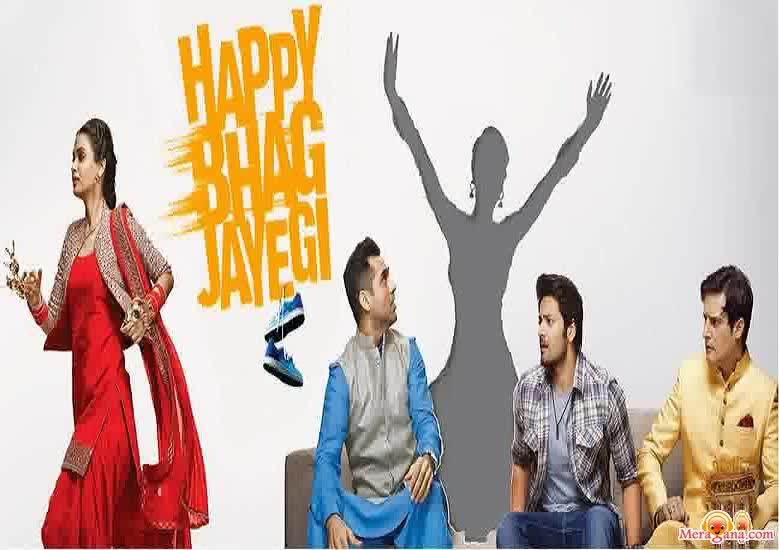 Poster of Happy Bhag Jayegi (2016) - (Hindi Film)