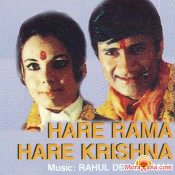 Poster of Hare Rama Hare Krishna (1971) - (Hindi Film)