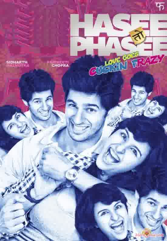 Poster of Hasee Toh Phasee (2014)