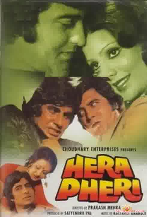 Poster of Hera Pheri (1976) - (Hindi Film)