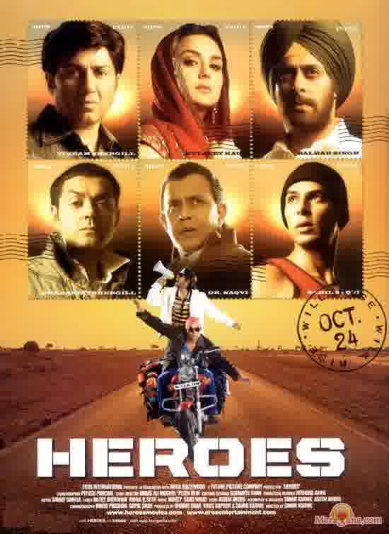 Poster of Heroes (2006) - (Hindi Film)