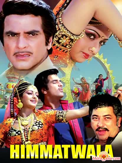 Poster of Himmatwala (1983) - (Hindi Film)
