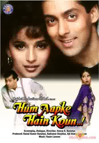 Poster of Hum Aapke Hain Koun (1994) - (Hindi Film)