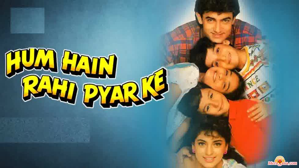 Poster of Hum Hain Rahi Pyar Ke (1993) - (Hindi Film)