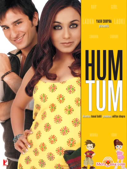 Poster of Hum Tum (2004) - (Hindi Film)