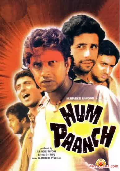 Poster of Hum Paanch (1980)