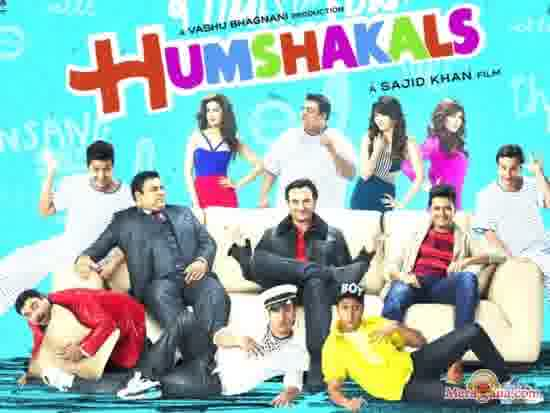 Poster of Humshakals (2014) - (Hindi Film)